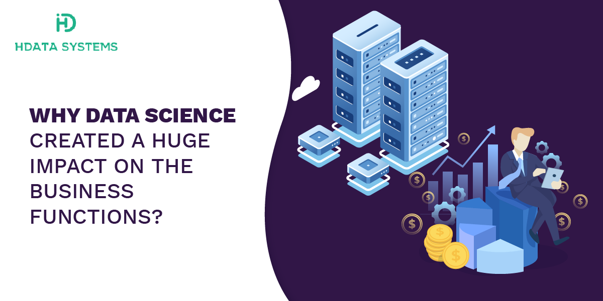 why data science created a huge impact on the business functions