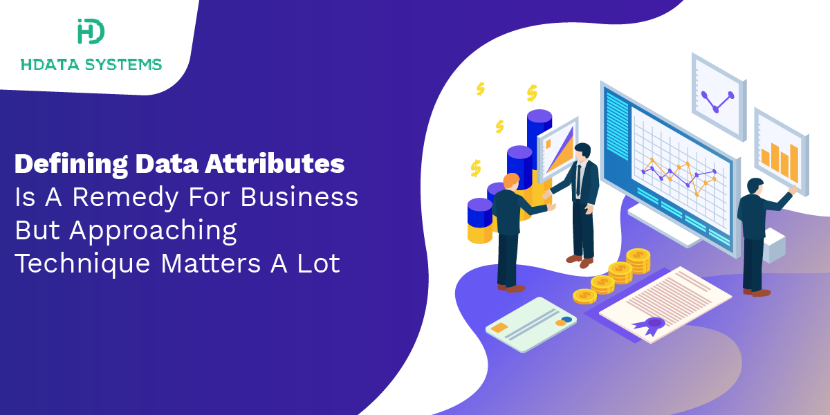 defining data attributes is a remedy for business but approaching technique matters a lot