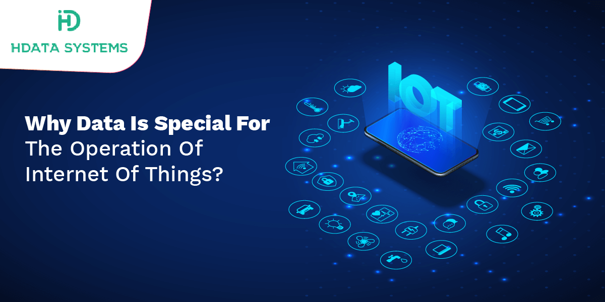 why data is special for the operation of internet of things