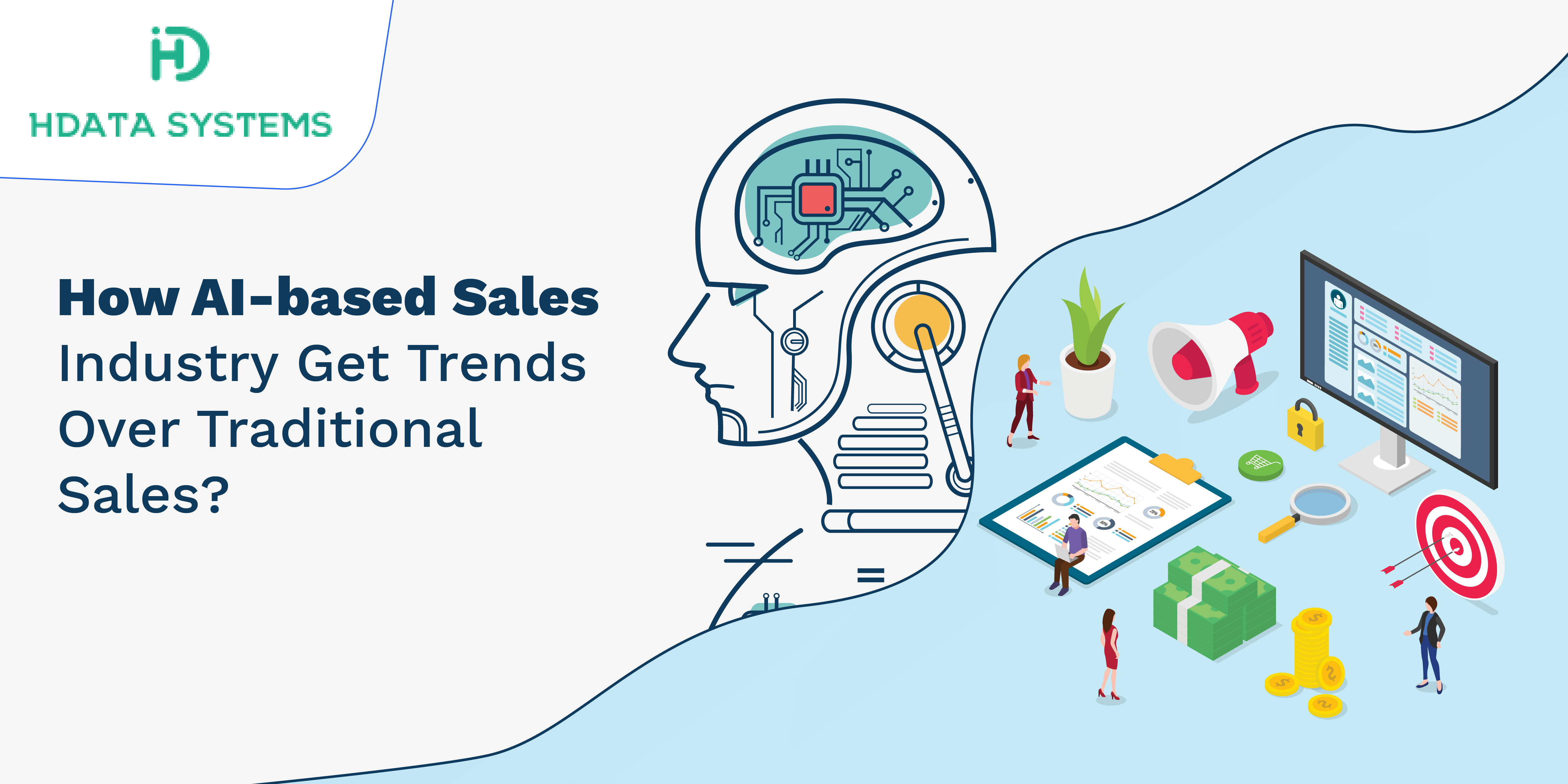 how ai based sales industry get trends over traditional sales