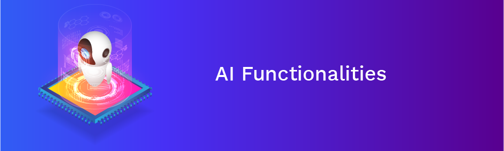 ai functionalities