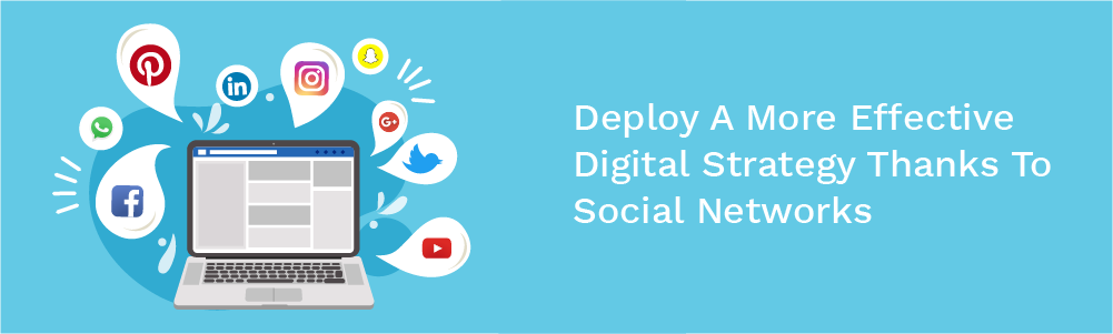 deploy a more effective digital strategy thanks to social networks