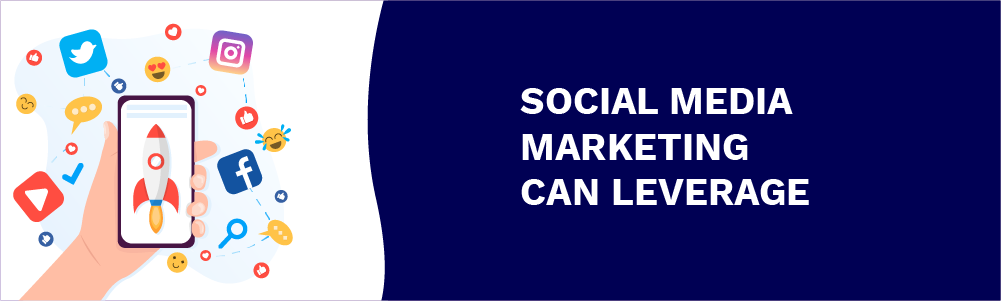 social media marketing can leverage